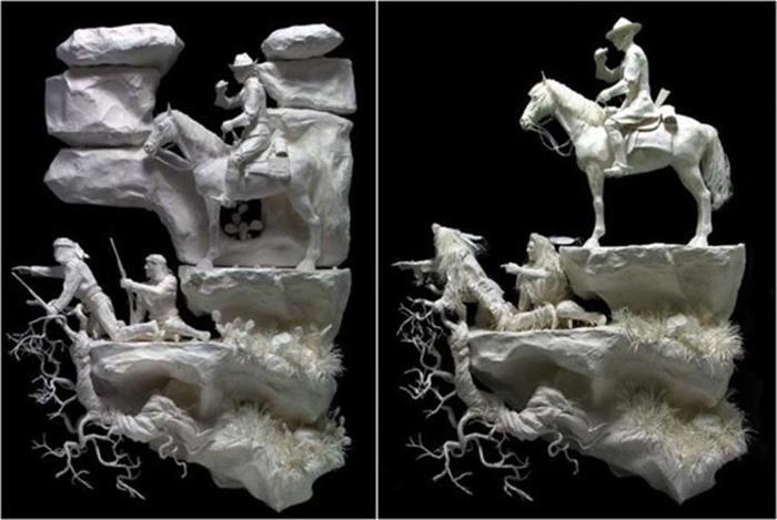 Удивительные скульптуры из бумажной массы 0 115b67 e32a7af9 orig