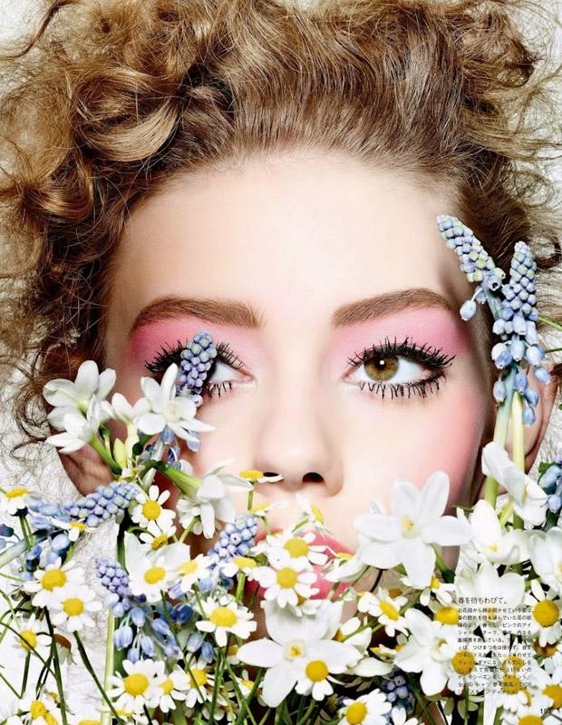 Ондрия Хардин (Ondria Hardin) в журнале Vogue Japan