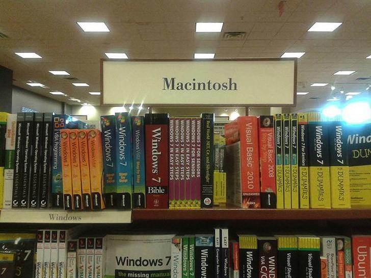 22. Macintosh уже не тот.