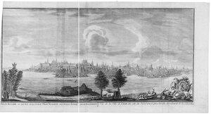 Видъ Казани, во время водополья
