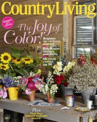 Журнал Country Living №4 2014 (US)
