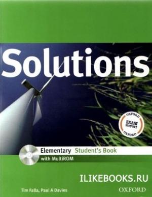 Аудиокнига Tim F., Paul D. - Solutions Elementary