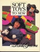 Книга Soft Toys to Sew