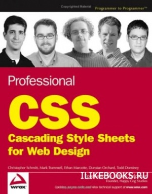 Книга Christopher Schmitt, Mark Trammell, Ethan Marcotte, Dunstan Orchard, Todd Dominey - Professional CSS Cascading Style Sheets for Web Design