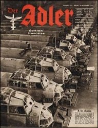 Журнал Der ADLER  № 23 - 18 novembre (ноября) 1941