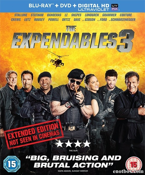 ����������� 3 / The Expendables 3 (2014/BDRip/HDRip)
