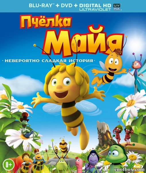 Пчёлка Майя / Maya the Bee Movie (2014/BDRip/HDRip/3D)