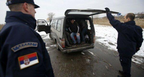 Европа, Сербия, Косово, мигранты