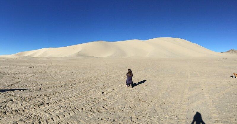 Песчаная гора недалеко от Fallon