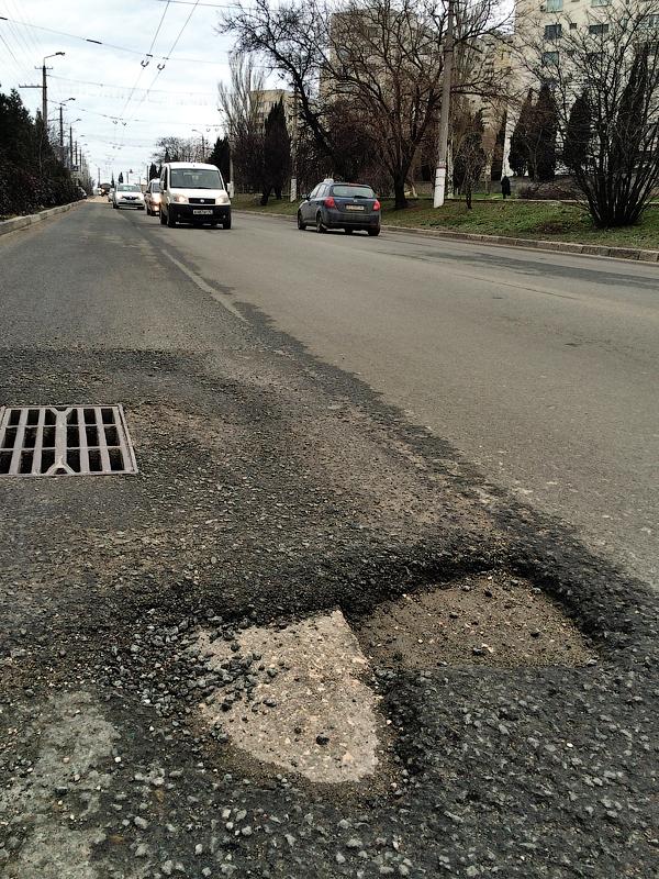 Севастопольские дороги