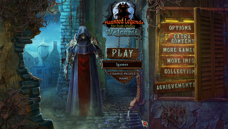 لعبة Haunted Legends: Dark Wishes