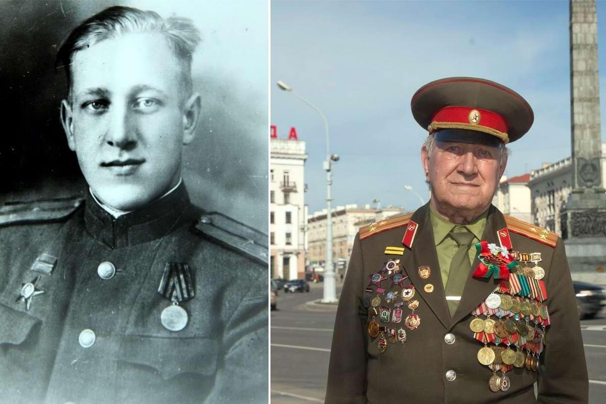 15 героев Великой Отечественной Войны из 15 республик Советского Союза - Николай Мазаник, уроженец Белоруссии, 92 года