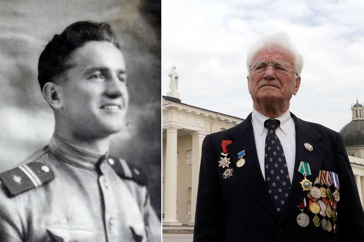 15 героев Великой Отечественной Войны из 15 республик Советского Союза - Юлиус Декснис, уроженец Литвы, 88 лет