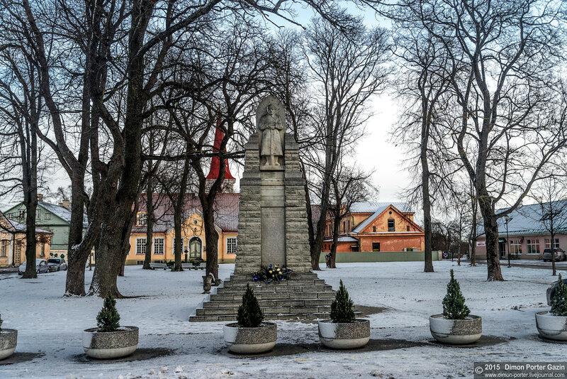 Эстония. Хаапсалу. Епископский замок