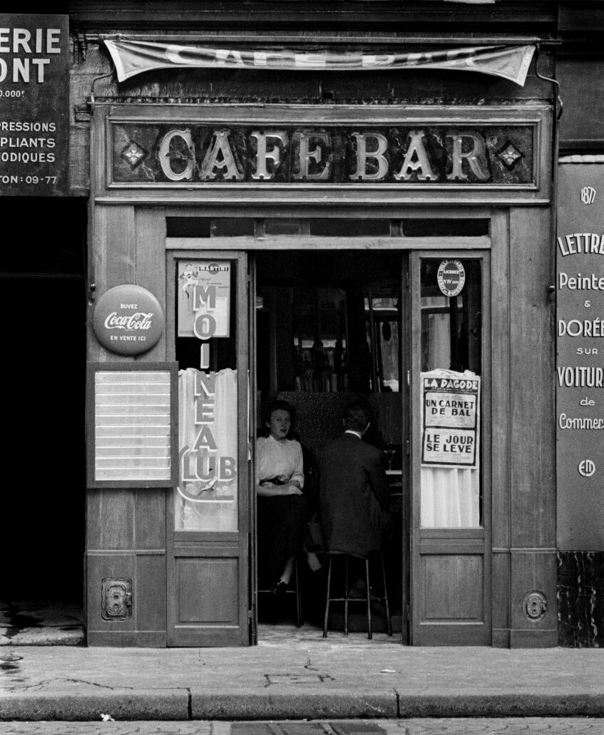 1950-е. Кафе Воробей