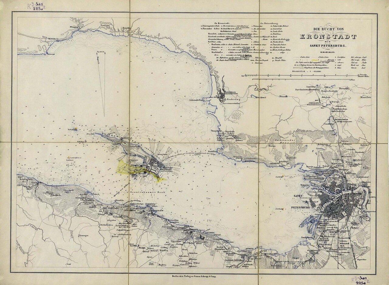 1854. Кронштадтский залив