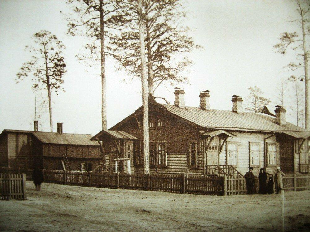 43. Станция Гондатти. Жилой дом