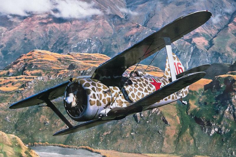 Советский истребитель И-153 Чайка