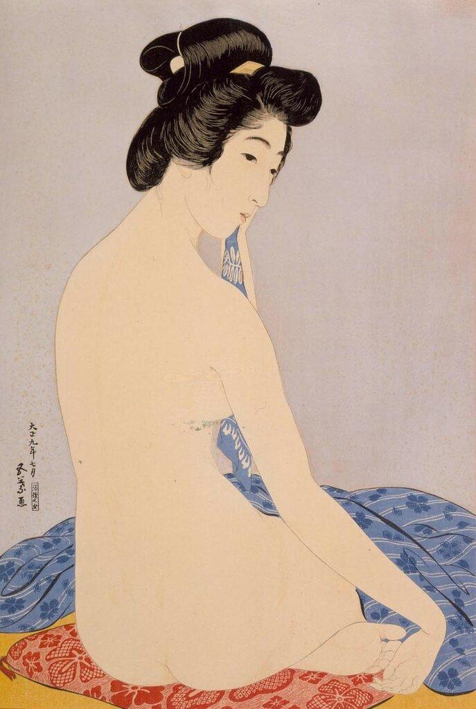 Pale Flower, Goyō Hashiguchi.jpg
