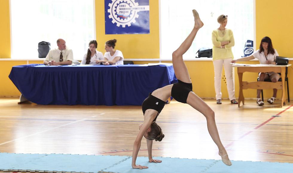 соревнования по спортивной акробатике, черлидинг, Тверь