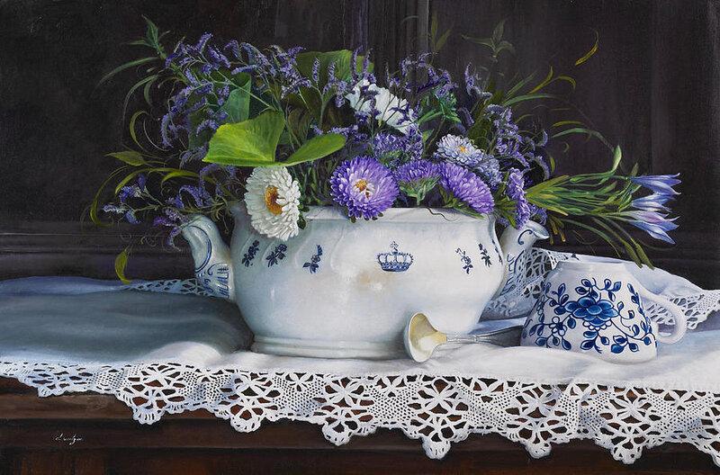 Мой дом.Тепло в нём и уютно, растут цветы повсюду. Danka Weitzen