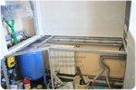 Массивная столешница под раковину для санузла. Дуб. Изготовление и монтаж 02.2015г