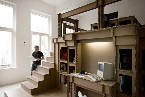 Экоофис и мебель из картона