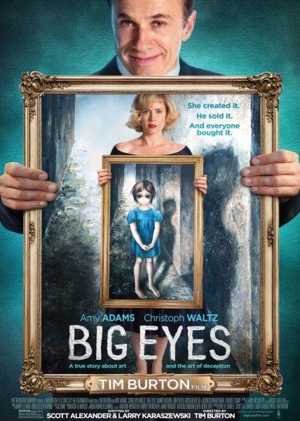 ������� ����� / Big Eyes (2014/WEB-DL 1080p/720p/ WEB-DLRip/2100Mb/1.46Gb/745Mb)