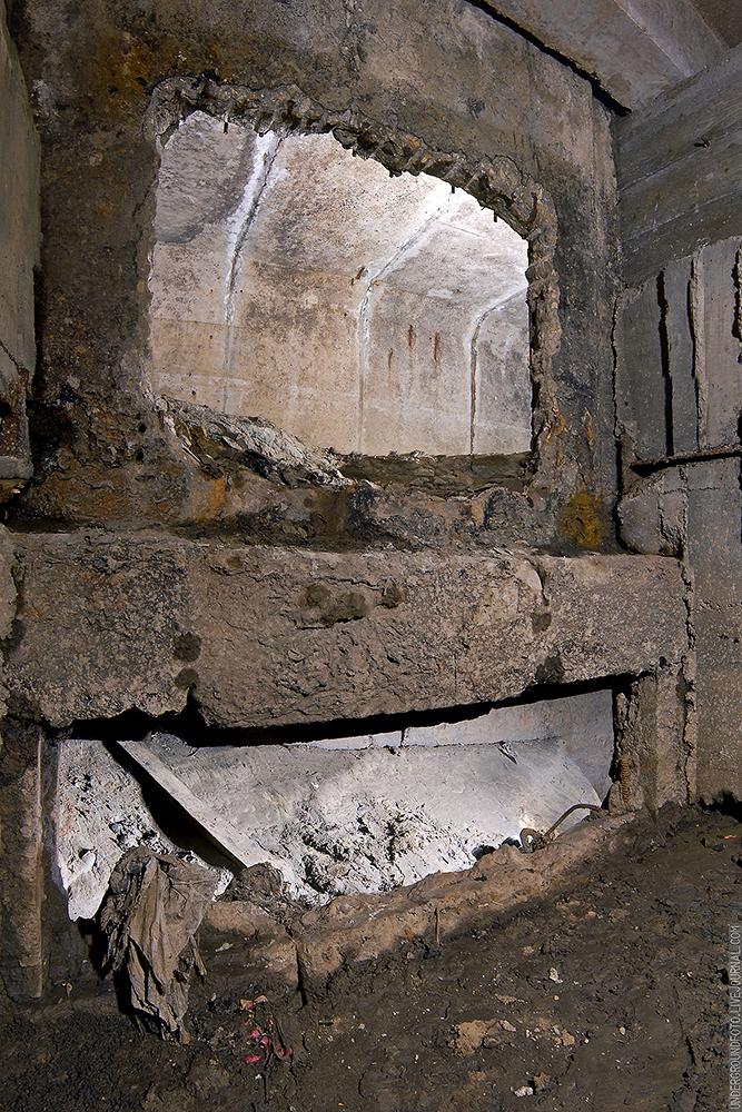 Двухуровневый подземный коллектор