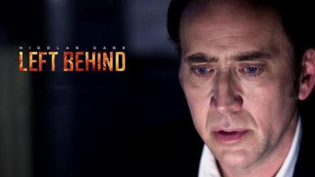 Сатана рекламирует фильм «Оставленные» с Николасом Кейджем (фото)