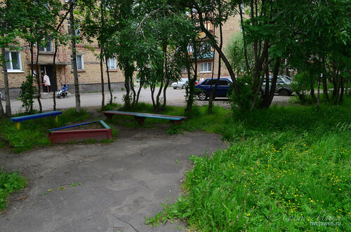 Фото города Инта №8086  Двор Воркутинской 2 02.07.2015_17:15