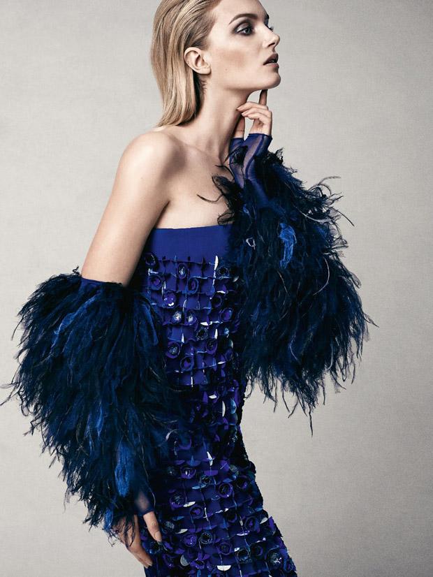 Лили Дональдсон (Lily Donaldson) в журнале Vogue Turkey