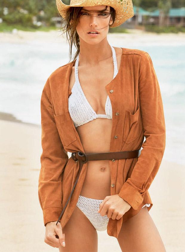 Алессандра Амбросио (Alessandra Ambrosio) в журнале Vogue Brazil