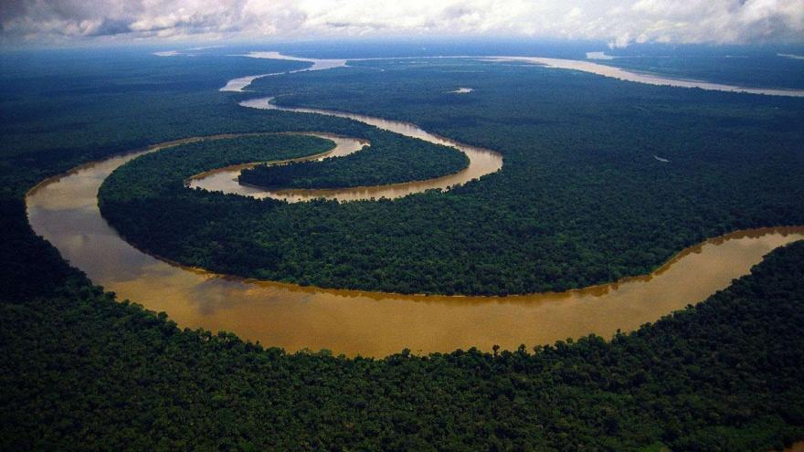 Амазонка является не только одной из самых водоносных рек, но также образует один из живописнейших р