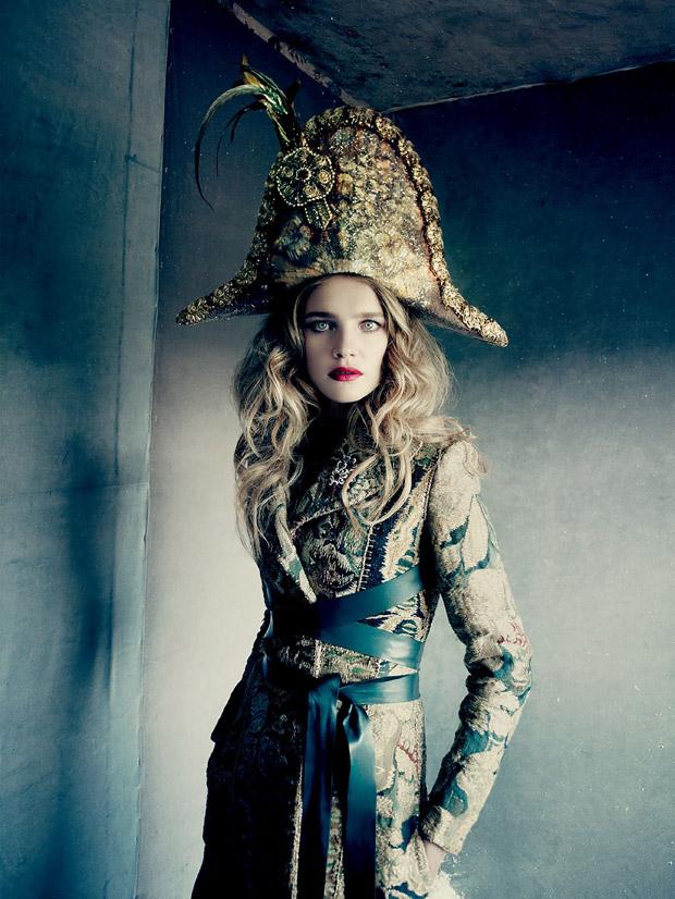 Наталья Водянова (Natalia Vodianova) в журнале Vogue Russia (7 фото)
