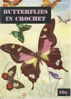 Журнал Butterflies in Crochet, Clark's O.N.T. J. & P. Coats, Butterflies, Book No. 272 jpg 19,92Мб