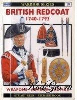 Книга Osprey - Warrior №19. British Redcoat 1740-1793
