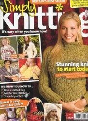 Журнал Simply Knitting №2 2007