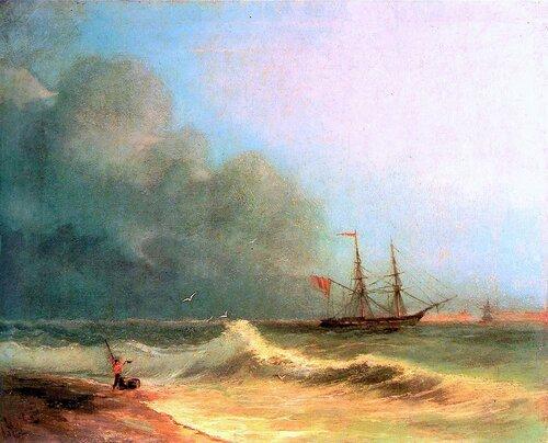 Айвазовский. Море перед бурей.jpg