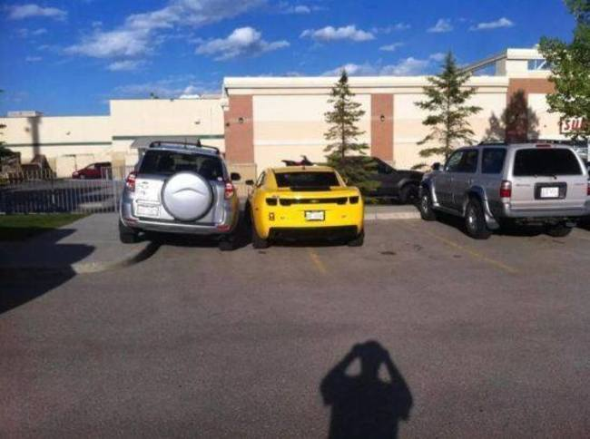 о правильной парковке