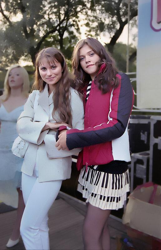 Олия и Саша Рябинина