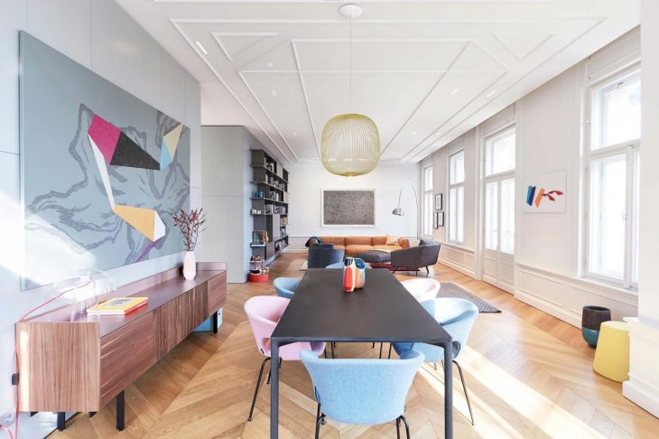 Colourful Budapest Apartment by Position Collective