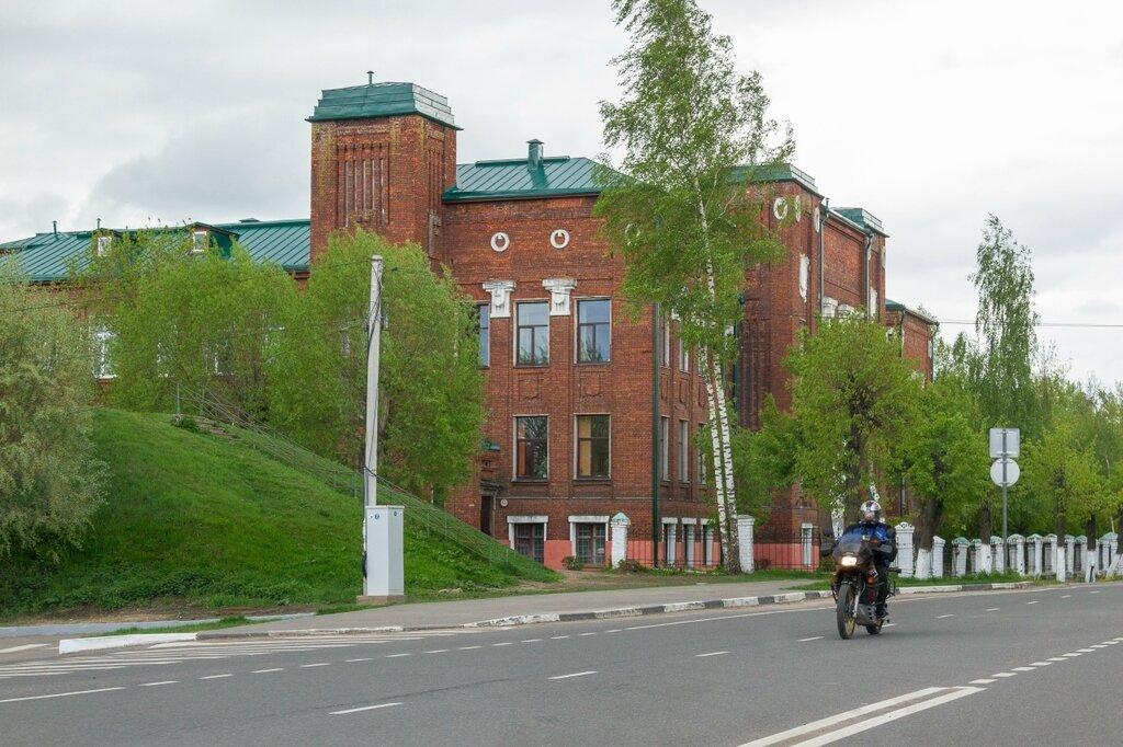 Городской вал и средняя школа № 1 , Переславль-Залесский