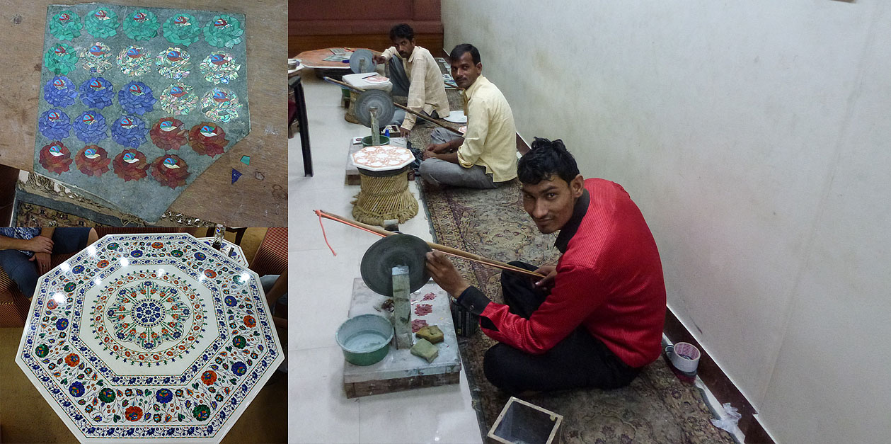 Фото 15. Древние ремесла до сих пор живы в Индии. Поездка на экскурсию в Агру.