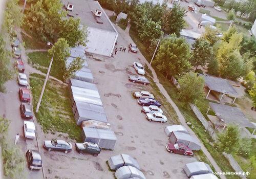 Двор Авиаторов 12 2000 год