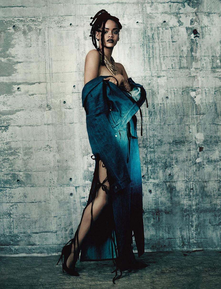 Рианна / Rihanna by Paolo Roversi for i-D pre-spring 2015