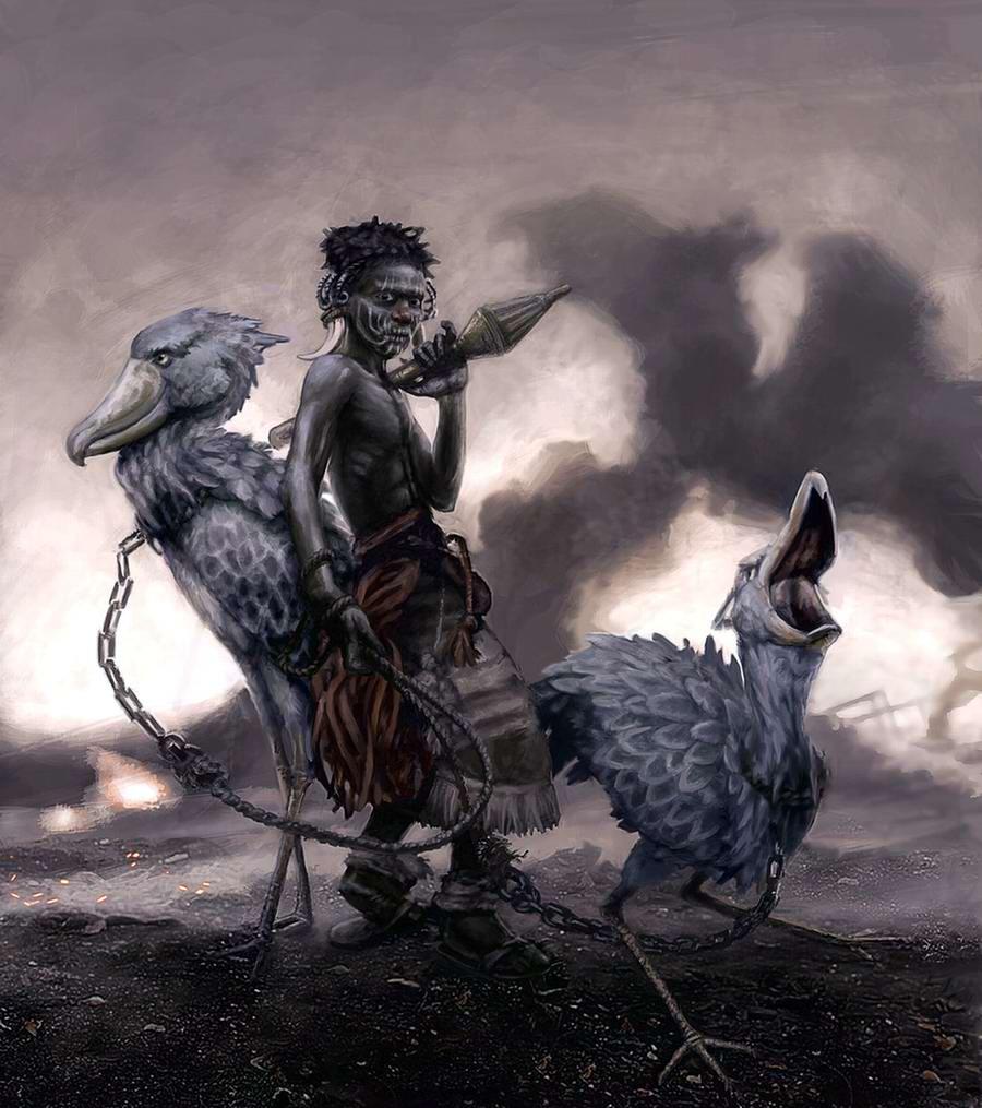 Африканский военный колдун