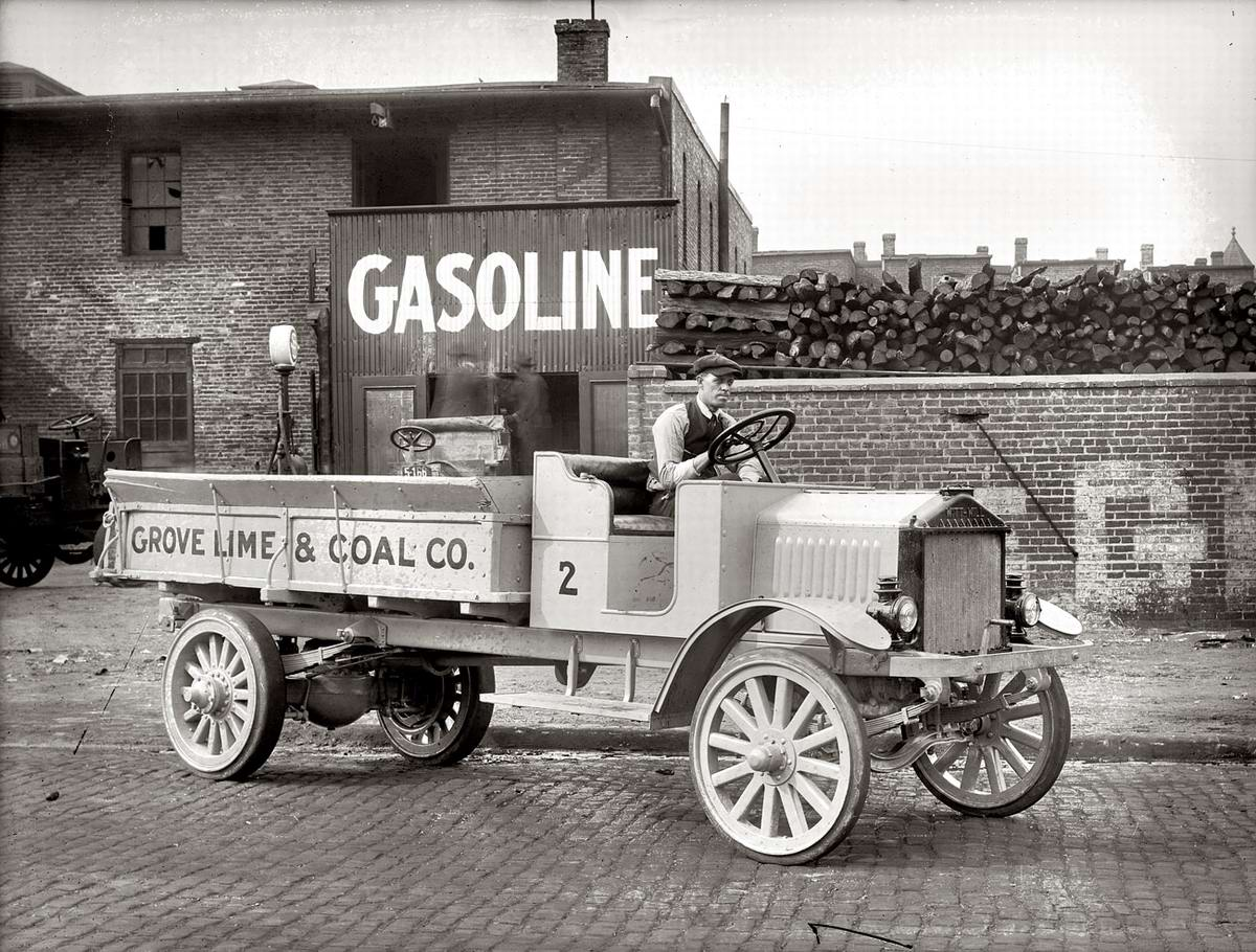 Специализированные транспортные средства начала 20-го века на снимках американских фотографов (27)