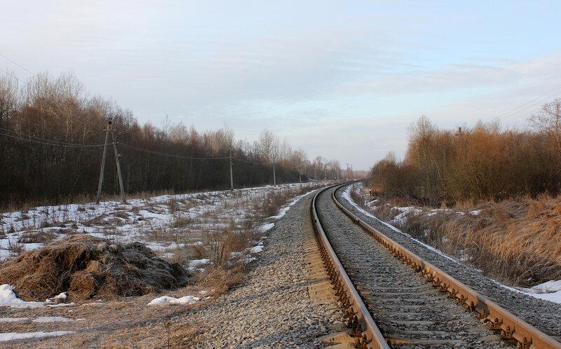 Место под путевое развитие экс-станции Забойники