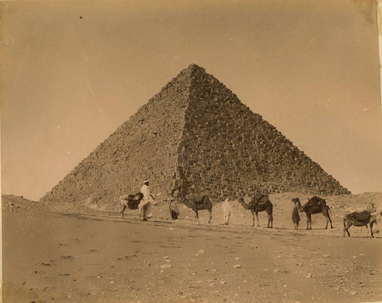 Гиза. Пирамида Менкаура